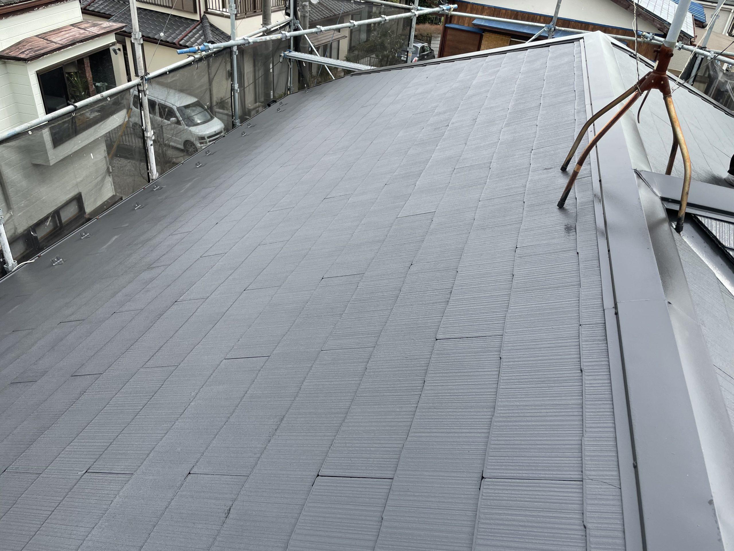 外壁塗装に屋根塗装をセット割り!