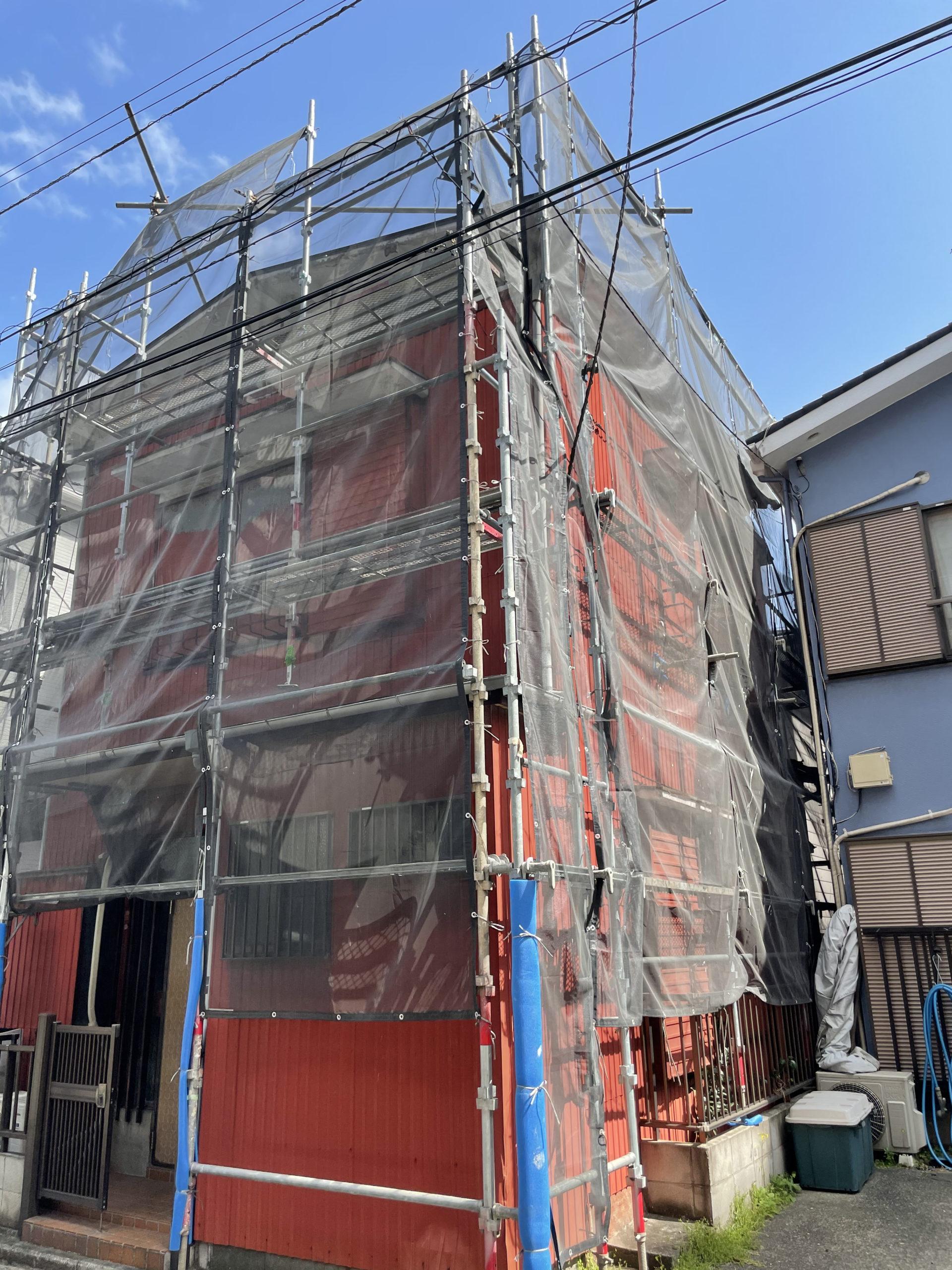 横浜市西区 K様邸 外壁塗装工事